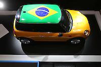 SAO PAULO, SP, 29.10.2014 - SALAO DO AUTOMOVEL - Mini  28º Salão Internacional do Automóvel de São Paulo, nesta quarta-feira,29 no Anhembi, na zona norte de São Paulo, SP. O evento acontece do dia 30 de outubro até o dia 9 de novembro. (Foto: Vanessa Carvalho / Brazil Photo Press).