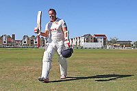 Graham Napier of Essex leaves the field having scored 124 during Essex CCC vs Sussex CCC, Specsavers County Championship Division 2 Cricket at the Essex County Ground on 7th August 2016