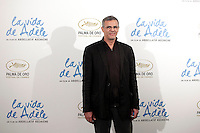 Director Abdellatif Kechiche attends 'La Vida De Adele' (Blue Is The Warmest Color) photocall at the Santo Mauro Hotel on October 22, 2013 in Madrid, Spain. (ALTERPHOTOS/Victor Blanco)