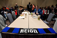 Seattle Reign FC. The NWSL draft was held at the Pennsylvania Convention Center in Philadelphia, PA, on January 17, 2014.