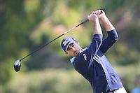 02/19/12 Pacific Palisades: Jonathan Byrd during the fourth round of the Northern Trust Open held at the Riviera Country Club