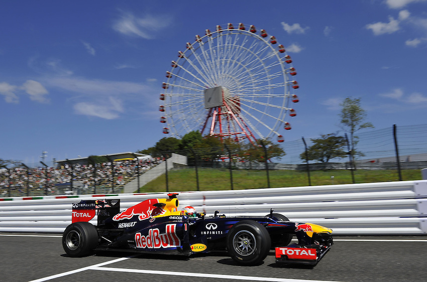 .Sebastian Vettel (GER), Red Bull Racing ..2012 FIA Formula One World Championship - Japanese Grand Prix - Suzuka Circuit - Suzuka - Japan - Friday 5th October 2012...