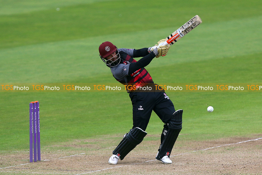 Peter Trego in batting action for Somerset during Somerset vs Essex Eagles, Royal London One-Day Cup Cricket at The Cooper Associates County Ground on 14th May 2017