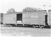 Side view of box car #3236 at La Jara.<br /> D&amp;RGW  La Jara, CO  Taken by Richardson, Robert W. - 8/8/1949