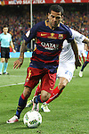 FC Barcelona's Daniel Alves  during Spanish Kings Cup Final match. May 22,2016. (ALTERPHOTOS/Rodrigo Jimenez)