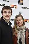 "One Life To Live and Guiding Light Fiona Hutchison (in the film) poses with her son Trevor at The private Industry Screening of ""The Southside"", A Lany Film Tribute to Robert Areizaga, Jr. on February 27, 2012 at Tribeca Cinemas, New York City, New York.  (Photo by Sue Coflin/Max Photos)"