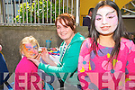 Listowel Army, Agri & Vintage Day : Attending the Listowel Army, Agri, & Vintage Day on Sunday last were Siobhan Leahy, face painter Grainne O'Connor & Arceyda Hilliard.