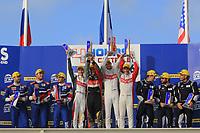 PODIUM LMP2 : WINNER #46 THIRIET BY TDS RACING (FRA) ORECA 05 NISSAN LMP2 PIERRE THIRIET (FRA) MATHIAS BECHE (CHE) MIKE CONWAY (GBR)SECOND<br /> -SECOND #32 SMP RACING (RUS) BR 01 NISSAN LMP2 STEFANO COLETTI (MCO) JULIAN LEAN (COL) ANDREAS WIRTH (DEU) - THIRD #21 DRAGONSPEED (USA) ORECA 05 NISSAN LMP2 HENRIK HEDMAN (SWE) NICOLAS LAPIERRE (FRA) BEN HANLEY (GBR)