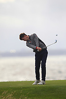 David Brady (Co. Sligo) on the 15th tee during the Connacht Final of the AIG Barton Shield at Galway Bay Golf Club, Galway, Co Galway. 11/08/2017<br /> <br /> Picture: Golffile | Thos Caffrey<br /> <br /> <br /> All photo usage must carry mandatory copyright credit     (&copy; Golffile | Thos Caffrey)