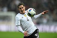 FUSSBALL INTERNATIONAL TESTSPIEL IN DER ALLIANZ ARENA MUENCHEN Deutschland - Italien    29.03.2016  Sebastian Rudy  (Deutschland)