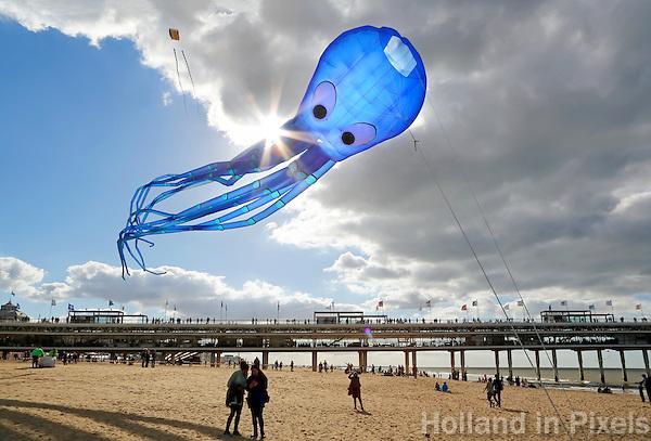 Nederland Scheveningen 2015 09 27.  Vlieger feest in Scheveningen