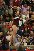 17 February 2006: Tabitha Yim during Stanford's win over the University of Arizona at Burnham Pavilion in Stanford, CA.