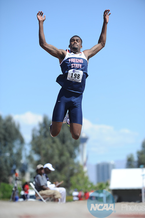 11 May 2013:  Mountain West Conference Track and Field Championship  at the University of Las Vegas-Nevada in Las Vegas NV.  Chris Steppig/NCAA Photos