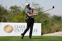 Rasmus Hojgaard (DEN) on the 2nd during the Pro-Am of the Commercial Bank Qatar Masters 2020 at the Education City Golf Club, Doha, Qatar . 04/03/2020<br /> Picture: Golffile   Thos Caffrey<br /> <br /> <br /> All photo usage must carry mandatory copyright credit (© Golffile   Thos Caffrey)
