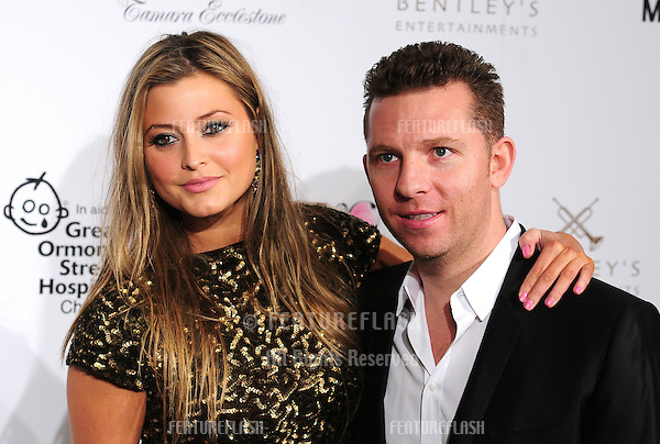 Holly Valance and Nick Candy attending a Fundraising Dinner In Aid Of Great Ormond St Hospital, at One Marylebone, London. 14/11/2011 Picture by: Simon Burchell / Featureflash
