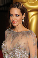 HOLLYWOOD, LOS ANGELES, CA, USA - MARCH 02: Angelina Jolie at the 86th Annual Academy Awards held at Dolby Theatre on March 2, 2014 in Hollywood, Los Angeles, California, United States. (Photo by Xavier Collin/Celebrity Monitor)
