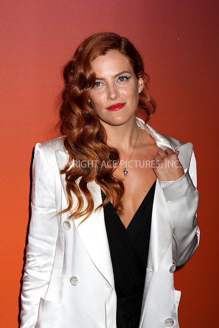 WWW.ACEPIXS.COM<br /> <br /> October 23, 2013 in New York City<br /> <br /> Riley Keough arrives at the 2013 Whitney Gala and Studio Party at Skylight at Moynihan Station on October 23, 2013 in New York City.<br /> <br /> By Line: Nancy Rivera/ACE Pictures<br /> <br /> <br /> ACE Pictures, Inc.<br /> tel: 646 769 0430<br /> Email: info@acepixs.com<br /> www.acepixs.com