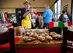 The California delta town of Isleton hosted the 14th annual Spam Festival at Peter's Steakhouse and the Hotel Del Rio in Isleton, California on Sunday, February 15, 2015.  This annual festival has Spam cooking contests, Spam eating contests, and Spam throwing contests.  Photo/Victoria Sheridan