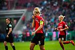 01.05.2019, RheinEnergie Stadion , Köln, GER, DFB Pokalfinale der Frauen, VfL Wolfsburg vs SC Freiburg, DFB REGULATIONS PROHIBIT ANY USE OF PHOTOGRAPHS AS IMAGE SEQUENCES AND/OR QUASI-VIDEO<br /> <br /> im Bild | picture shows:<br /> Rebecca Knaak (SC Freiburg Frauen #8) enttäuscht, <br /> <br /> Foto © nordphoto / Rauch