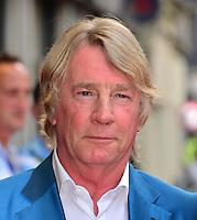 Rick Parfitt<br /> The &quot;Bula Quo!&quot; UK film premiere, Odeon West End cinema, Leicester Square, London, England.<br /> July 1st, 2013<br /> headshot portrait blue white shirt <br /> CAP/BF<br /> &copy;Bob Fidgeon/Capital Pictures