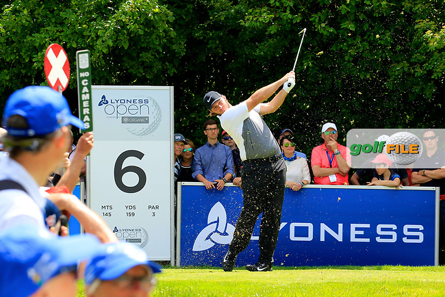 Sepp Straka (AUT) during the third round of the Lyoness Open powered by Organic+ played at Diamond Country Club, Atzenbrugg, Austria. 8-11 June 2017.<br /> 10/06/2017.<br /> Picture: Golffile | Phil Inglis<br /> <br /> <br /> All photo usage must carry mandatory copyright credit (&copy; Golffile | Phil Inglis)