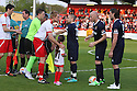 Mark Roberts, Joe Cole, James Collins and Andy Carroll. Mitchell Cole Benefit Match - Lamex Stadium, Stevenage - 7th May, 2013. © Kevin Coleman 2013. ..