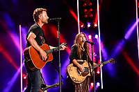 08 June 2019 - Nashville, Tennessee - Dierks Bentley, Tenille Townes. 2019 CMA Music Fest Nightly Concert held at Nissan Stadium.   <br /> CAP/ADM/FB<br /> ©FB/ADM/Capital Pictures