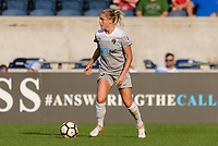 Bridgeview, IL - Sunday September 03, 2017: Abby Dahlkemper during a regular season National Women's Soccer League (NWSL) match between the Chicago Red Stars and the North Carolina Courage at Toyota Park. The Red Stars won 2-1.