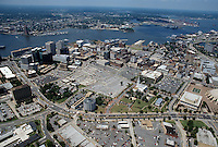 1996 June 28..Redevelopment..Macarthur Center.Downtown North (R-8)..LOOKINGSOUTHWEST WITH ST PAULS IN FRONT...NEG#.NRHA#..