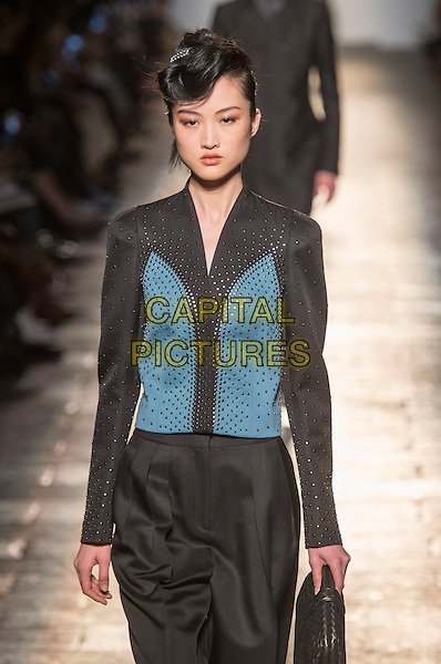 BOTTEGA VENETA<br /> at Milan Fashion Week FW 17 18<br /> in Milan, Italy  February 2017.<br /> CAP/GOL<br /> &copy;GOL/Capital Pictures