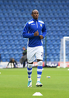 Colchester United's Kane Vincent-Young warming up<br /> <br /> Photographer Hannah Fountain/CameraSport<br /> <br /> The EFL Sky Bet League Two - Colchester United v Mansfield Town - Saturday 7th October 2017 - Colchester Community Stadium - Colchester<br /> <br /> World Copyright &copy; 2017 CameraSport. All rights reserved. 43 Linden Ave. Countesthorpe. Leicester. England. LE8 5PG - Tel: +44 (0) 116 277 4147 - admin@camerasport.com - www.camerasport.com