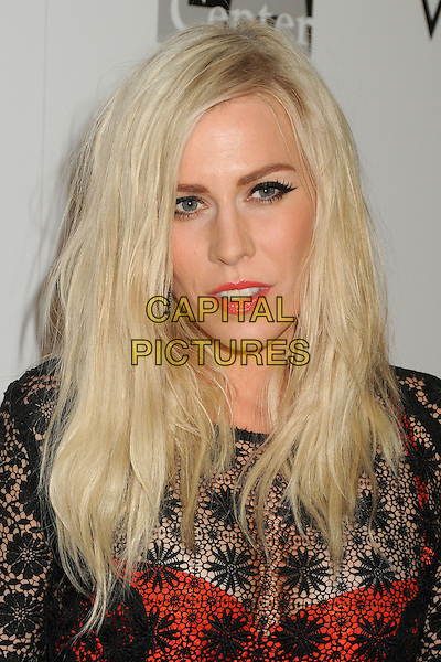 "Natasha Bedingfield.LA Gay & Lesbian Center's ""An Evening With Women"" 2013 held at the Beverly Hilton Hotel, Beverly Hills, California, USA, 18th May 2013..portrait headshot makeup eyeliner  black lace red skirt bra see thru through .CAP/ADM/BP.©Byron Purvis/AdMedia/Capital Pictures"