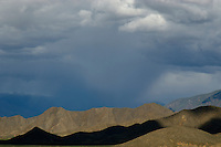 A storm approches in the north of Tibet close to namtso Lake
