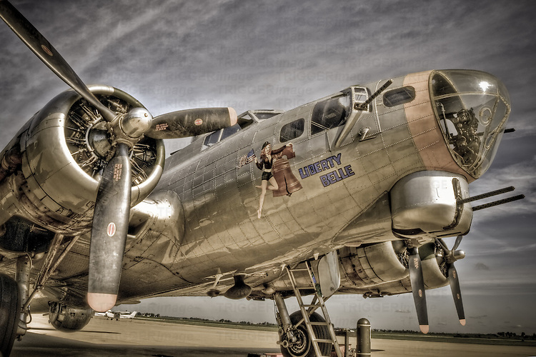 Liberty Bell WWII bomber plane