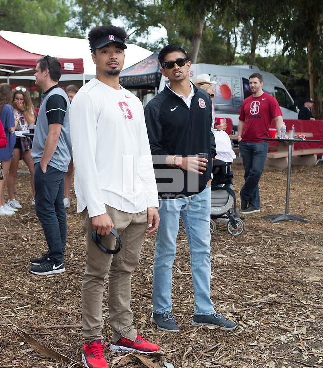 Stanford, CA - April15, 2017:  Tailgate Party  at Cagan Stadium.