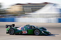 Drayson Racing's #8 Lola/Judd in T17 at Sebring