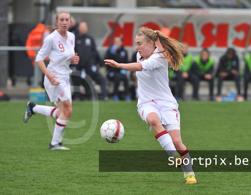 UEFA Women's Under 17 Championship - Second Qualifying round - group 1 : England - Iceland : .Hollie Kelsh.foto DAVID CATRY / Vrouwenteam.be