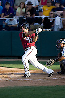July 4, 2009: Yakima Bears infielder Gerson Montilla at-bat during a Northwest League game against the Everett AquaSox at Everett Memorial Stadium in Everett, Washington.