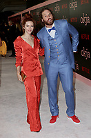 www.acepixs.com<br /> <br /> June 8 2017, New York City<br /> <br /> TJ Miller (R) and Kate Gorney arriving at the premiere of 'Okja' hosted by Netflix at the AMC Lincoln Square Theater on June 8, 2017 in New York City.<br /> <br /> By Line: Nancy Rivera/ACE Pictures<br /> <br /> <br /> ACE Pictures Inc<br /> Tel: 6467670430<br /> Email: info@acepixs.com<br /> www.acepixs.com