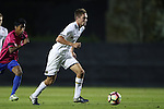 21 October 2016: Notre Dame's Blake Townes. The Duke University Blue Devils hosted the University of Notre Dame Fighting Irish at Koskinen Stadium in Durham, North Carolina in a 2016 NCAA Division I Men's Soccer match. Duke won the game 2-1 in two overtimes.