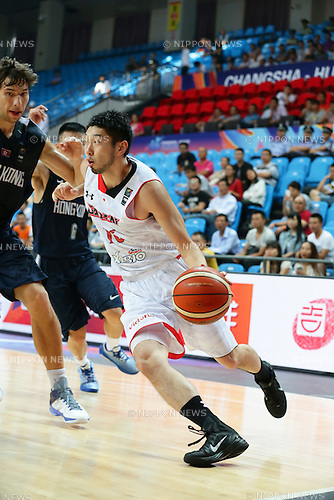 Keijuro Matsui (JPN), SEPTEMBER 29, 2015 - Basketball : 2015 FIBA Asia Championship for Men Group E match between Japan 89-62 Hong Kong at Changsha Social Work College's Gymnasium in Changsha, China. (Photo by Yoshio Kato/AFLO)