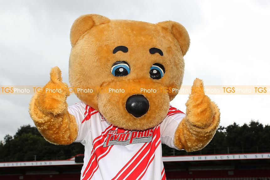 Boro Bear during Stevenage vs Hartlepool United, Sky Bet EFL League 2 Football at the Lamex Stadium on 3rd September 2016