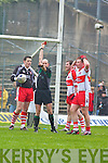 Referee Michael Collins (Cork), Kerry v Derry, Allianz National Football League, 2nd March 2008 at Fitzgerald Stadium, Killarney.   Copyright Kerry's Eye 2008