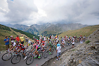 grupetto up the Col d'Allos (1C/2250m/14km/5.5%)<br /> <br /> stage 17: Digne-les-Bains - Pra Loup (161km)<br /> 2015 Tour de France