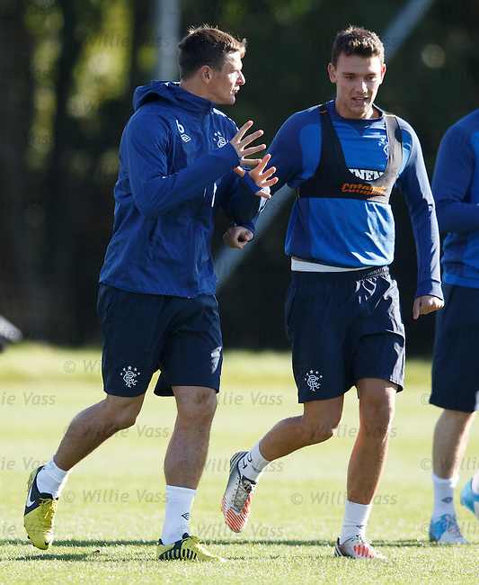 Lee McCulloch and Kal Naismith