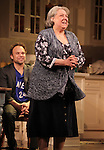 Norbert Leo Butz & Jayne Houdyshell during Broadway Opening Night Performance Curtain Call for 'Dead Accounts' at the Music Box Theatre in New York City. November 29, 2012.