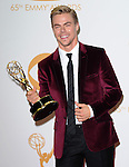Derek Hough attends 65th Annual Primetime Emmy Awards - Arrivals held at The Nokia Theatre L.A. Live in Los Angeles, California on September 22,2012                                                                               © 2013 DVS / Hollywood Press Agency