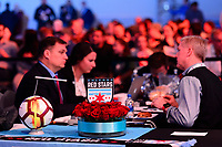 Philadelphia, PA - Thursday January 18, 2018: Chicago Red Stars during the 2018 NWSL College Draft at the Pennsylvania Convention Center.