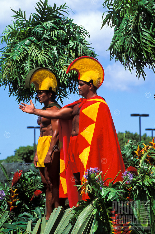 Royal Court, Kamehameha Day Parade, Honolulu
