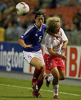 Corinne Diacre (France) v Ji Eun Lee (S.Korea)2003WWC France/S.Korea